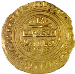 Tripoli, Bohemond VI or VII, gold bezant, 1251-87. Courtesy of Princeton University Numismatic Collection.